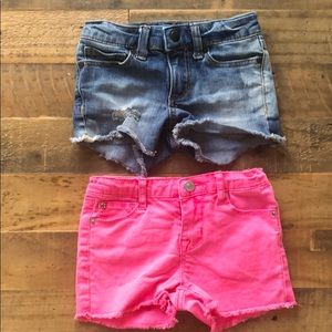 Joe's Jeans Bottoms - Joes and Hudson Shorts Lot 4 4T
